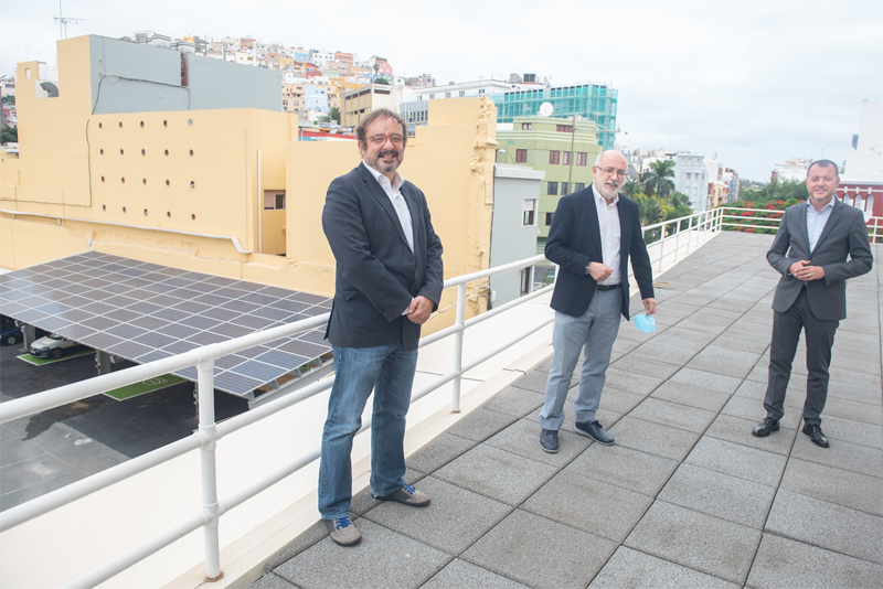 El 50 % del consumo energético del Cabildo y sus instalaciones será de fuentes renovables tras una inversión de 25 millones en tres años