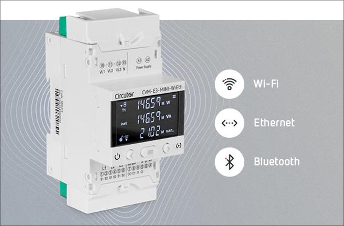 Descubre el nuevo CVM-E3-MINI-WiEth, Más fácil que nunca, ahora con Wi-Fi y Bluetooth