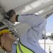 Estructuras y perfilería de soporte de Circutor para módulos fotovoltaicos