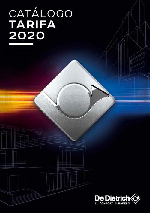 De Dietrich lanza su nuevo catálogo tarifa 2020.