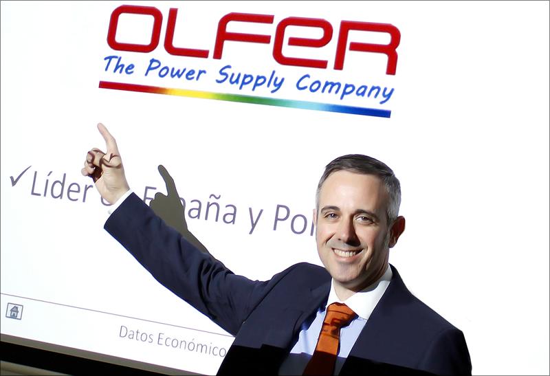 Ángel Oltra, director adjunto de Electrónica Olfer.