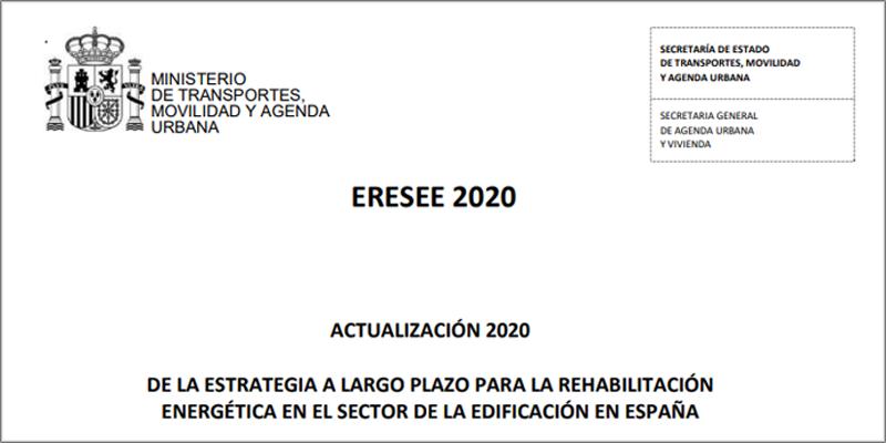España remite a la CE la actualización de la estrategia de rehabilitación energética ERESEE 2020