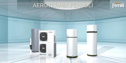 Nueva gama de aerotermia de Ferroli