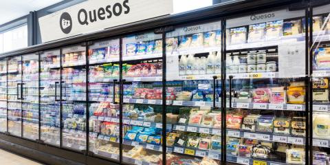 Cadena de supermercados reduce su factura eléctrica renovando los murales de frío