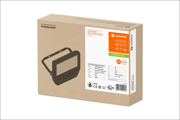 Nuevo embalaje ecológico y 100% reciclable para las luminarias profesionales de LEDVANCE.