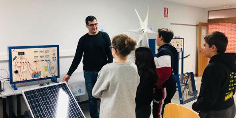 Estudiarán en Ávila la viabilidad del autoconsumo en servicios municipales con datos SIG 3D