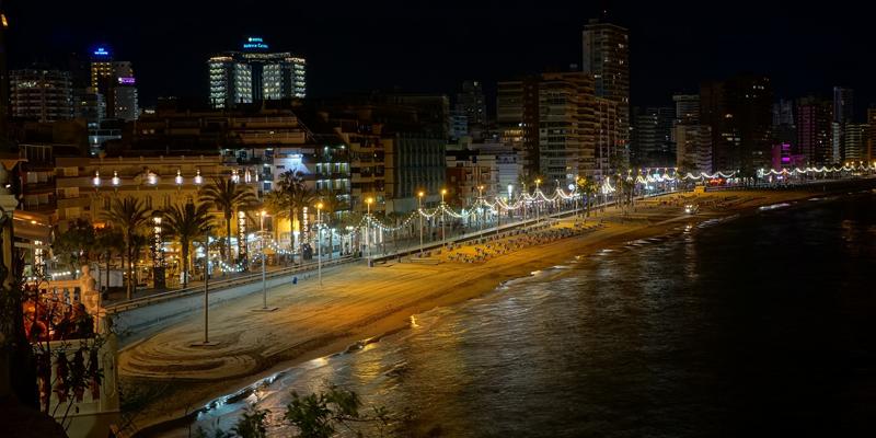 Benidorm obtiene 3 millones de fondos europeos para reducir el consumo eléctrico cerca de un 79%
