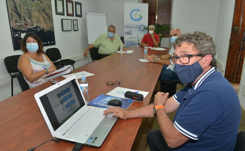 reunión administraciones locales de El Hierro y Gorona del Viento