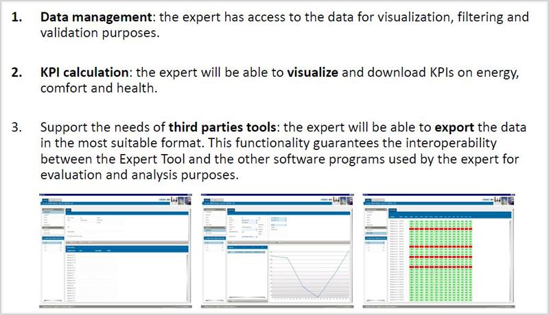 Objetivos de la herramienta experta