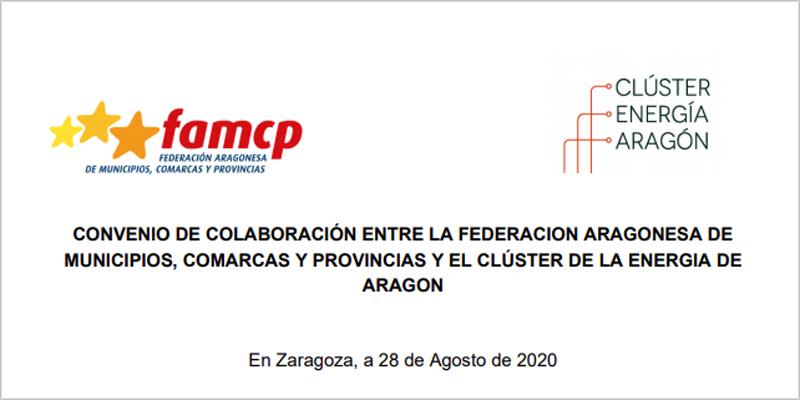 Convenio de colaboración para promover acciones de sostenibilidad energética local en Aragón