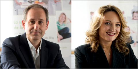 Ángel Torrescusa, product manager, y Ana de la Torre, manager Spain, de la compañía De Dietrich