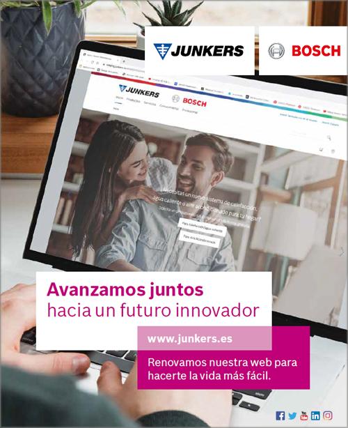 Nueva web de Junkers.