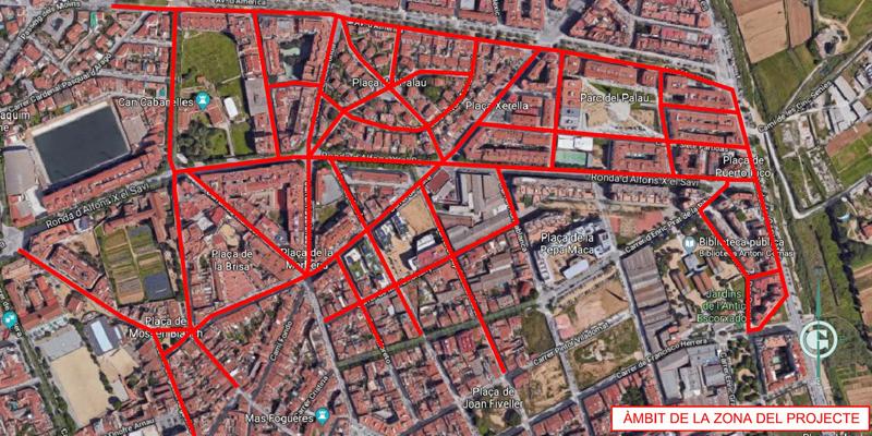 El municipio de Mataró, en Barcelona, inicia la renovación de su alumbrado público