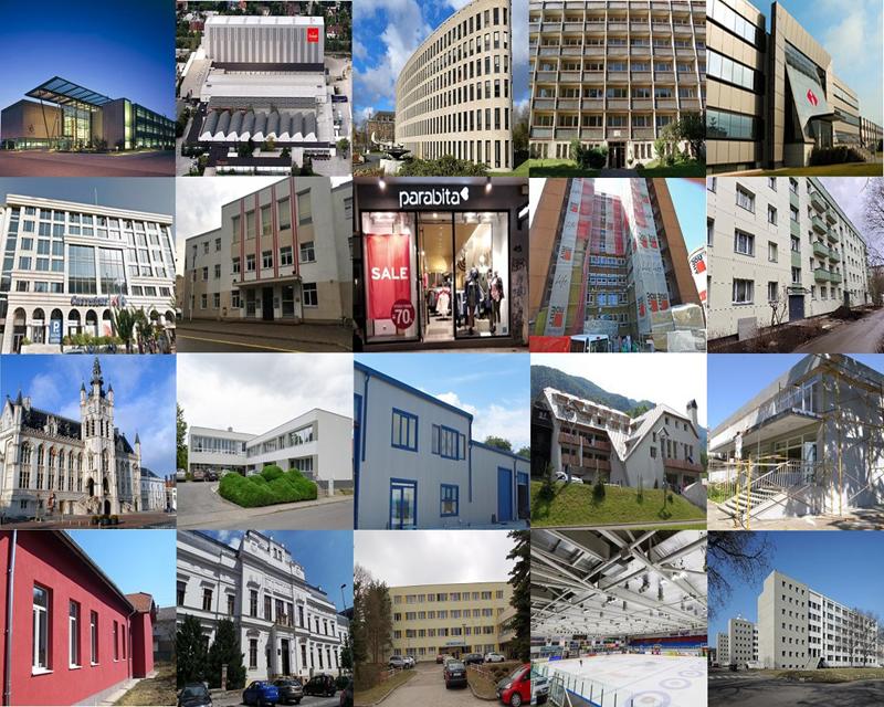 Imágenes de las ubicaciones de los proyectos piloto