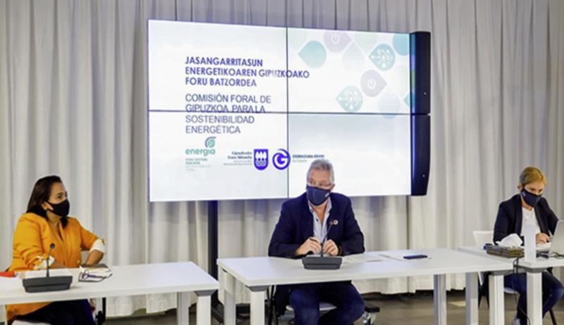 reunión de la Comisión Foral para la Sostenibilidad Energética