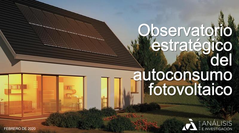 Observatorio español del autoconsumo fotovoltaico II