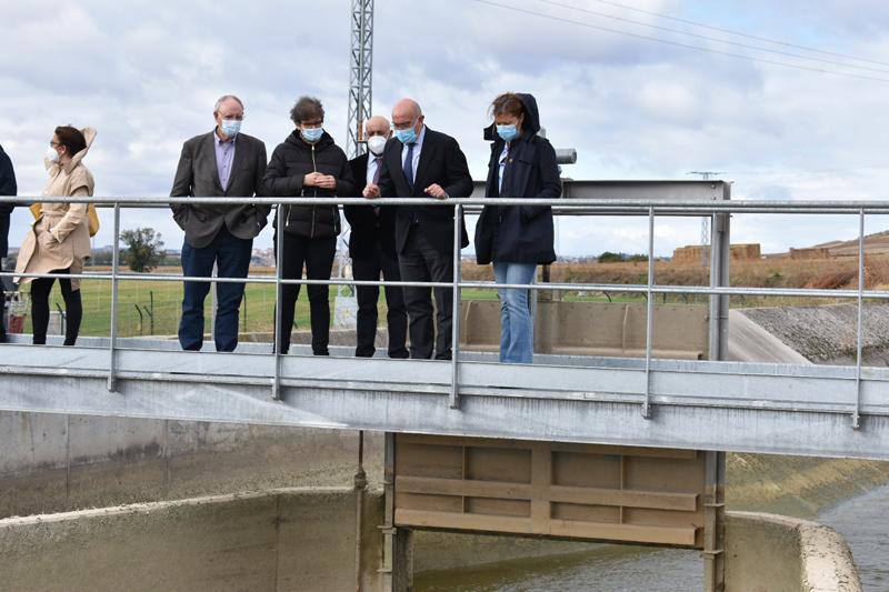 programa de eficiencia energética para regadíos de Castilla y León