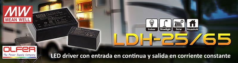 Leds drivers Electrónica OLFER.