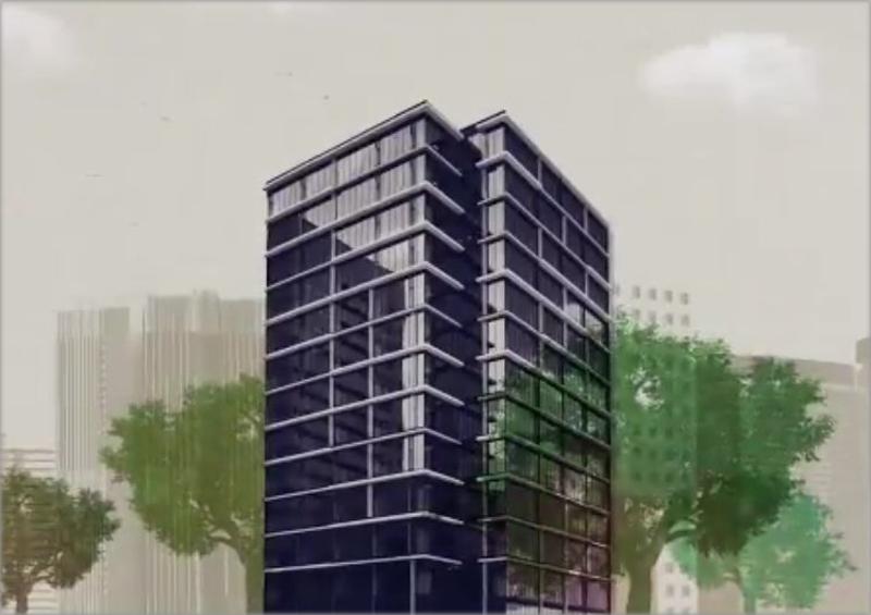 Dibujo de edificio