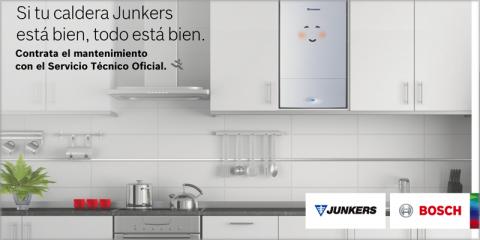 Campaña de Junkers sobre las ventajas de contratar el servicio de mantenimiento