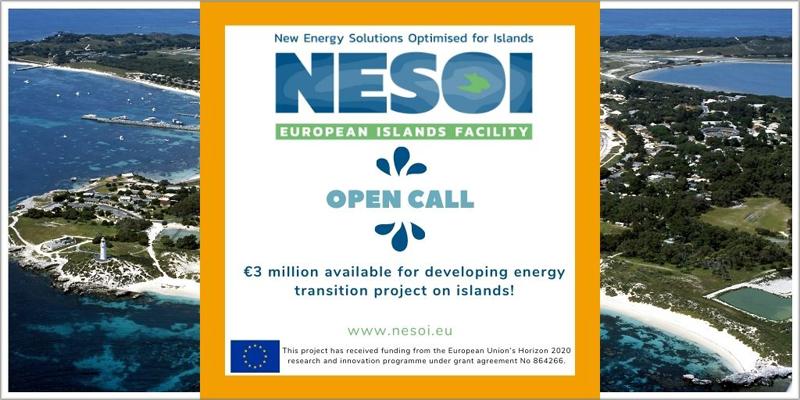 convocatoria de ayudas del proyecto Nesoi