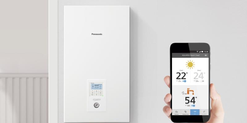 Panasonic lanza una nueva bomba de calor de bajo consumo energético