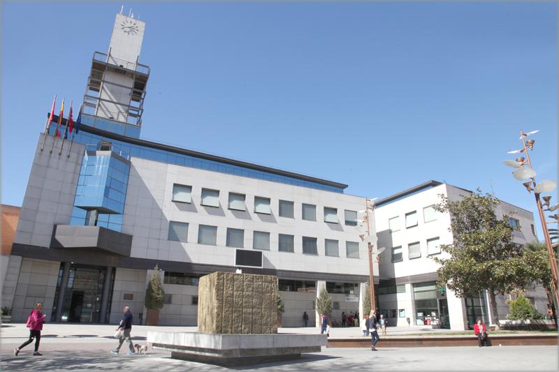 Ayuntamiento de Getafe desde el exterior