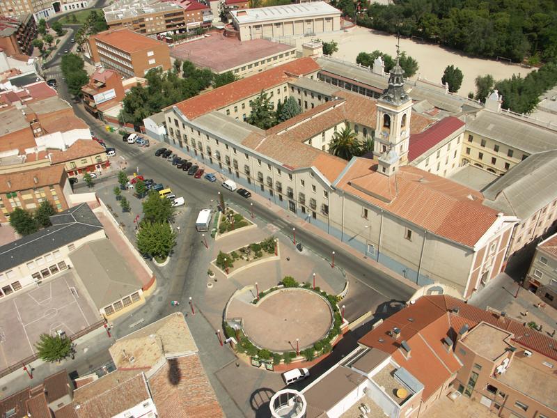 Imagen aérea de Getafe