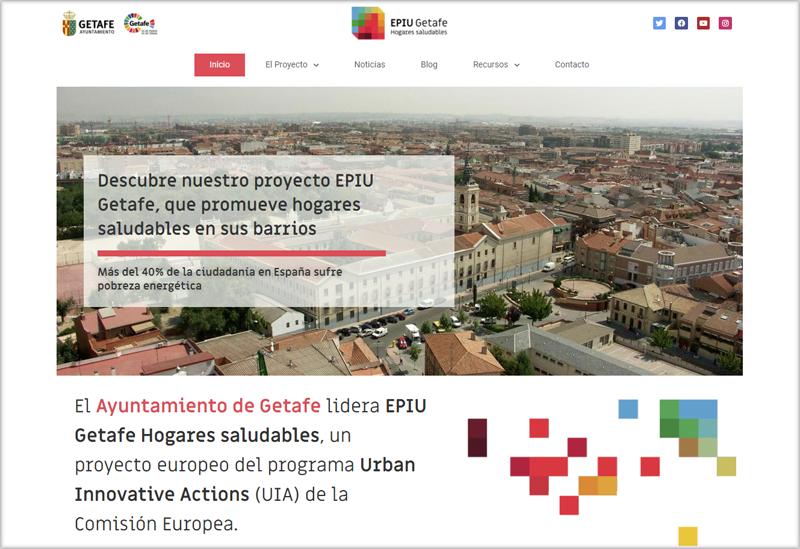 Web del proyecto EPIU Getafe