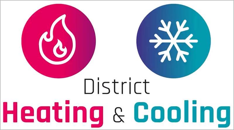calefacción y refrigeración de distrito