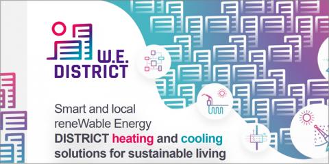 El proyecto europeo Wedistrict investiga un sistema de climatización urbana a partir de energía 100% renovable