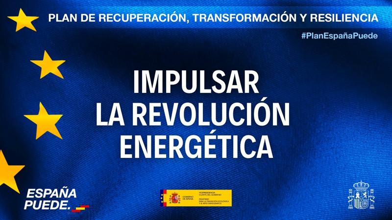 Cartel de impulso a la revolución energética