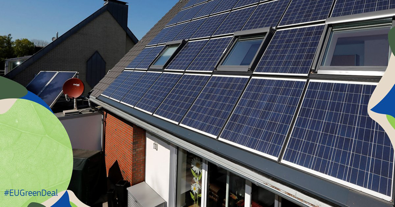 Energía fotovoltaica en tejado
