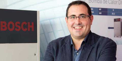 Antonio Barrón, jefe de Ventas Zona Centro-Sur para Calefacción y Aire Acondicionado Bosch Termotecnia España