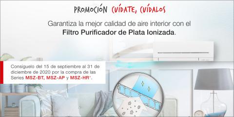 Mitsubishi Electric lanza una campaña promocional de aire acondicionado