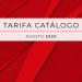 Tarifa catálogo 2020 de Mitsubishi Electric