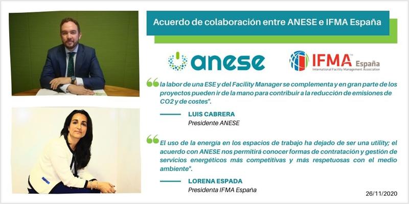 Acuerdo Anese e IFMA España
