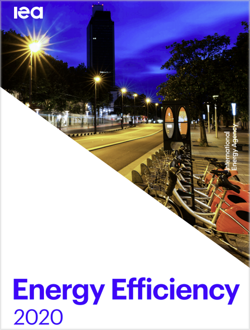 Portada del informe Energy Efficiency 2020