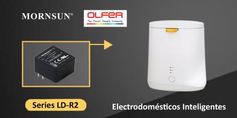 Fuentes de alimentación para entornos domésticos distribuidas por Electrónica OLFER