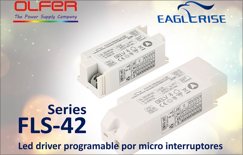Led driver Electrónica OLFER.
