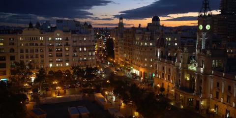 Renovación del alumbrado en la ciudad de Valencia