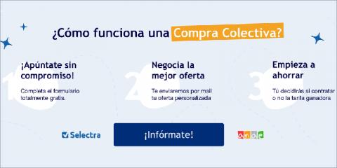 Anae y Selectra lanzan su quinta Compra Colectiva para ahorrar en luz y gas
