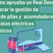 Aprobado el Real Decreto para mejorar la gestión de residuos de aparatos eléctricos y electrónicos