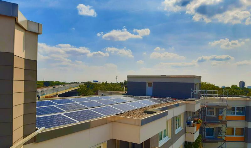 Energía fotovoltaica en azotea