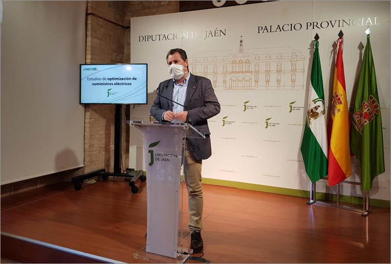 Pedro Bruno, durante la presentación de los resultados de estos estudios.