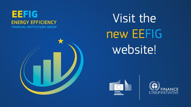 Anuncio de la nueva web del Grupo de Instituciones Financieras de Eficiencia Energética (EEFIG)