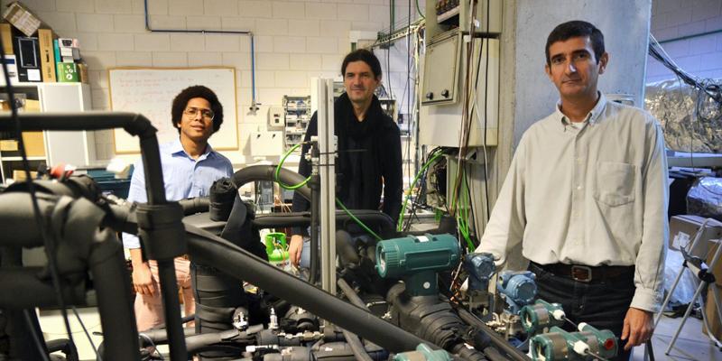 Investigadores de la UPCT trabajan en una bomba de calor que utiliza CO2 como refrigerante