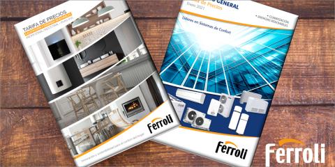 Novedades en las tarifas de calefacción y climatización de Ferroli