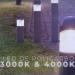 Bolardo LED CCT Leo fabricado en policarbonato