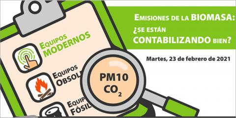 Avebiom organiza un webinar sobre la cuantificación de las emisiones de la biomasa